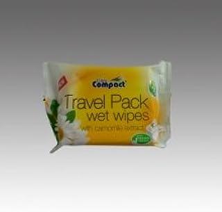 /à 20 Stk 3 Pkg Kamille Feuchtt/ücher Travelpackung