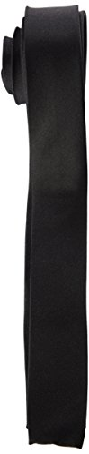 Merc of London Dam, Silk Tie, Cravate Homme, Noir (Black), Unique (Taille Fabricant: One)