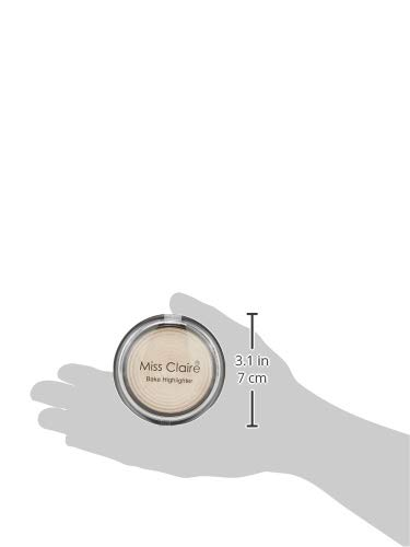Miss Claire Baked Highlighter 05, Off-white, 8 g