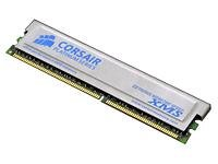 Corsair 1GB Non-ECC DDR RAM with Heat Spreader (CMX1024-3200PT)