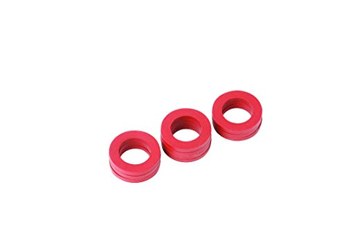 Yardsmith 620049 10 Pack Rubber Washers, Red