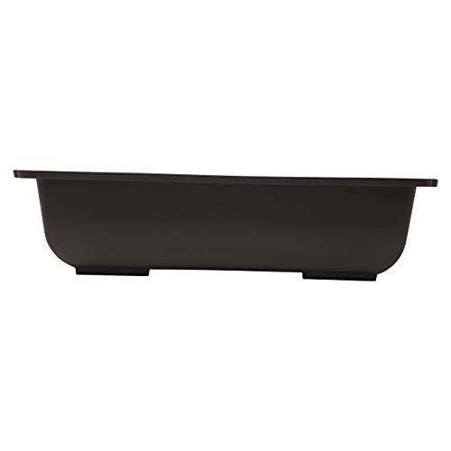 Plastic Rectangle Bonsai Training Pot - Brown (1, L-133 - 11.5' x 8.25' x 3')