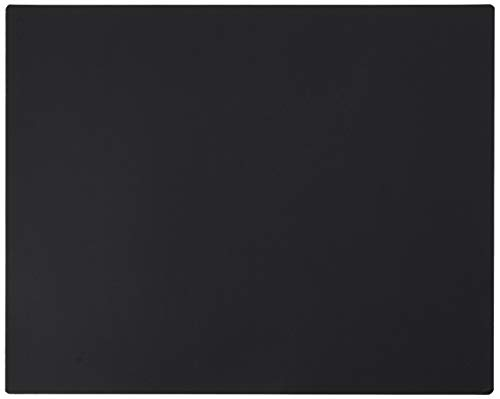 """Artistic Antimicrobial Black Desk Pad, 19"""" x 24"""" 