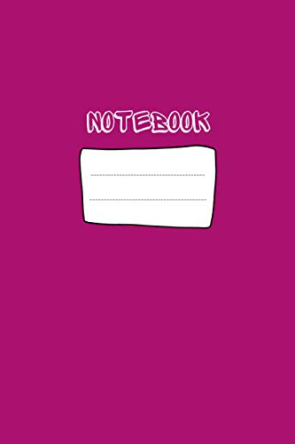 Notebook: Rosy Cover, Simple design, size: 6 x 9 inches and 120 Pages Lined Paper