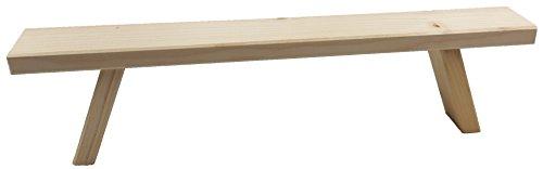 mumba® Lichterbogenerhöhung Unterstellbank Fuß Erhöhung Bank Fensterbank für Schwibbogen (1, 40cm)