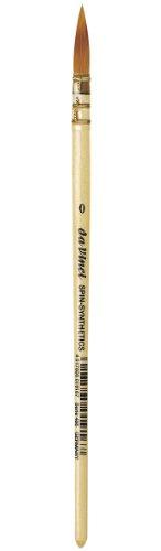 Da Vinci Watercolor Series 488 CosmoTop - Cepillo de Pintura (Redondo, sintético con Mango Natural, tamaño 0)