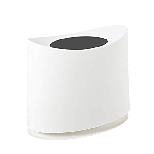 POUYTT Trash Can, Thickened Garbage Sorting Bins Household Wet And Dry Separation Kitchen Living Room Toilet Toilet Bedroom Trash Sleeve (Color : B)