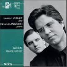 Johannes Brahms: Sonatas for Viola & Piano, Op. 120 Nos. 1 & 2