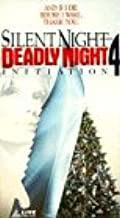 Silent Night Deadly Night 4: Initiation VHS