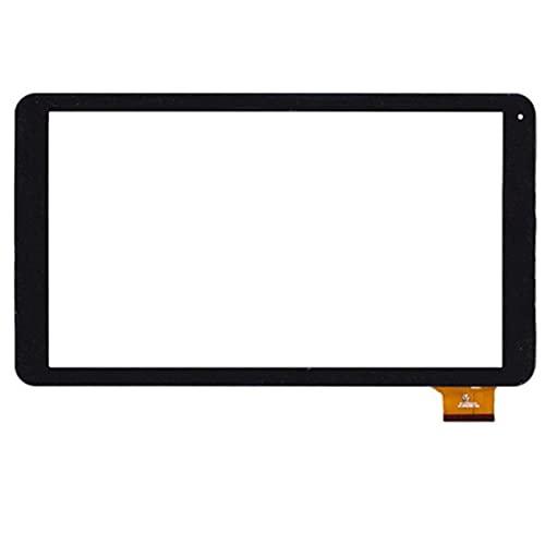 10.1 Pulgadas Ajuste para DIGILAND DL1010Q Tableta Tableta Pantalla táctil Panel táctil Digitalizador Sensor de Vidrio Reemplazo (Color : Black)
