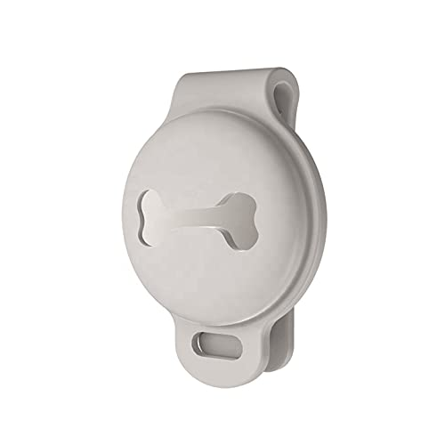 Anhänger für Airtag Silikon Hülle Hülle für H&e Haustiere Zubehör Schutzhülle kompatibel mit Apple Air Tags GPS Tracker Keychain Airtrack Schlüsselanhänger im modernen Design inkl. Geschenkbox