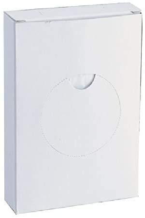 YMBERSA Caja dispensador de Bolsas higiénicas. Pack 5 Ud. (