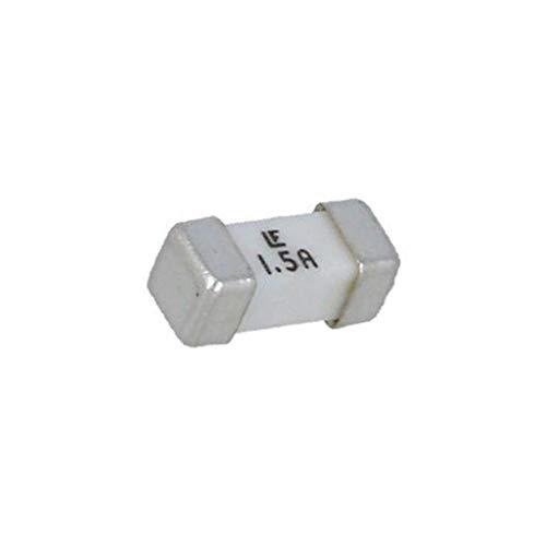 2X 045301.5MR Fuse: fuse ultra rapid 1.5A 125VAC SMD ceramic Case: 2410 453 LITT