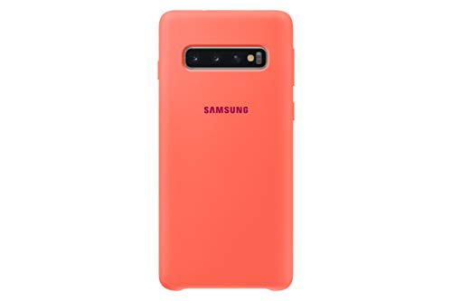 Samsung Silicone Cover, funda oficial para Samsung Galaxy 10, color Rosa