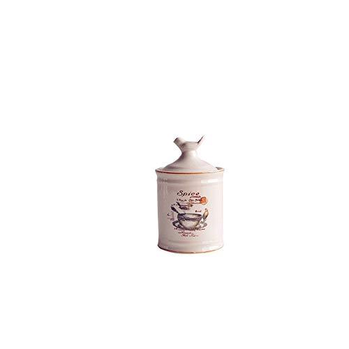 Houozon Retro verzegelde opbergdoos opslagtank, vogelvorm, geschikt voor het zetten van koffiebonen, thee, specerijen, rots snoep, kan ook vrienden sturen als geschenken.