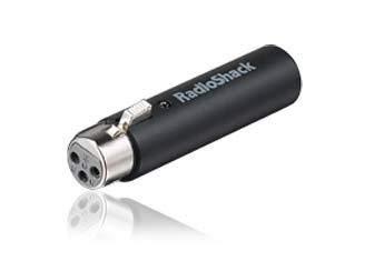 RadioShack XLR to Mini USB Microphone Adapter