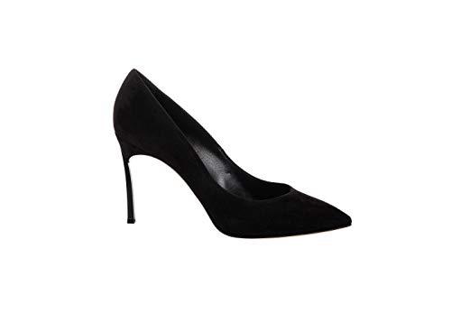 Casadei Damen High Heels, Schwarz - Schwarz - Größe: 36 EU