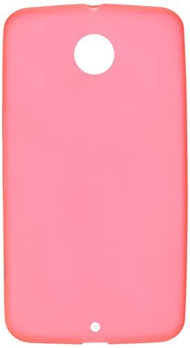 Orzly - FLEXISLIM Case for Nexus 6 - Super Slim (0.5mm) Case/Caja Duro Funda en Rojo - Diseñado Exclusivamente para Google/Motorola Nexus 6-2014 Modello Smartphone/Teléfono Móvil/Phablet