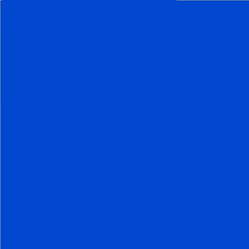 LEE Nr. 132 Medium Blue/Blau - 24 x 24 cm durchsichtige, hitzewiderstandsfähige, farbige Farbfolie für Foto Studio PAR 64 Scheinwerfer - Gel Farbfilter Filter Folie (1 Stück, Lee 132 Medium Blue)