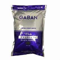 ギャバン GABAN ブラックペッパー (ホール1kg) 袋入