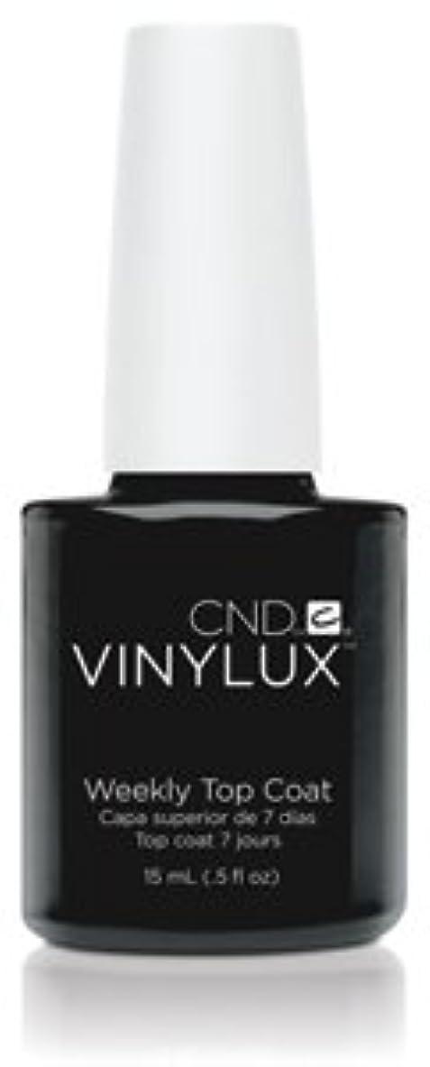 過ち電池CND バイナラクス ウィークリー トップコート 15ml