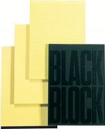 Exacompta - Carnet black block 29,7x21cm, paquete de 5 unidades
