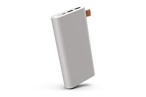 Fresh 'n Rebel Powerbank 18000 mAh USB-C | Tragbares Ladegerät - 2 Ports USB-C & USB - Ice Grey