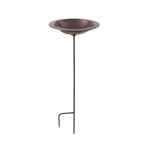 Achla Designs Classic II Copper Birdbath with Stake