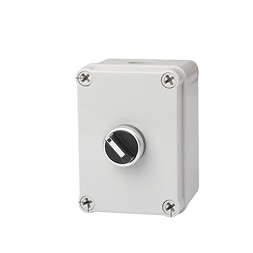 CGGA Caja de botones para interiores y exteriores, interruptor de arranque de parada de emergencia, alarma de reinicio de energía, motor de ascensor, caja de control eléctrico (color: 5)