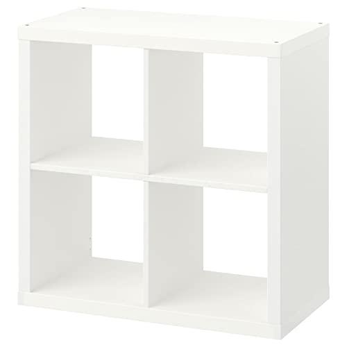 Ikea Estantería Blanca Kallax, librero Ideal para cestas o Cajas