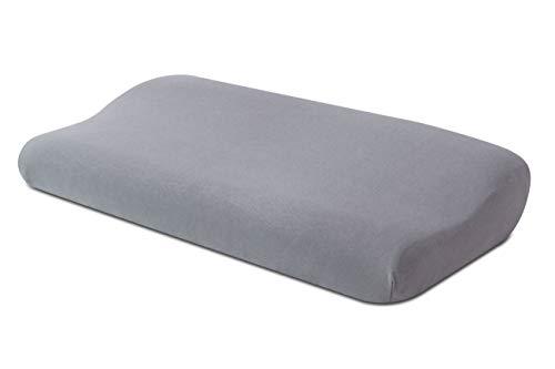 Bezug für Nackenstützkissen Q25 Farbe: Platin