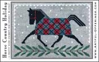 Best horse country holiday cross stitch Reviews