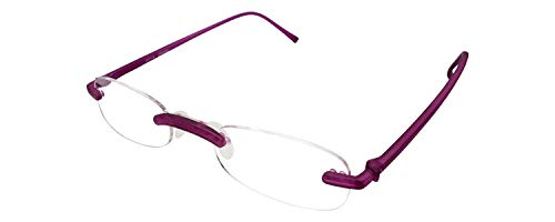 Calabria Reading Glasses - 714 Flexie in Violet +2.00