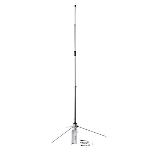 HYS 350-500Mhz Mobile Radio 100Watt Antenna UHF Alterable Frequency Aluminum Alloy Mobile Antenna for 350-500Mhz Device Repeater Motorola Kenwood Icom Midland Mobile FM Transceiver Radio