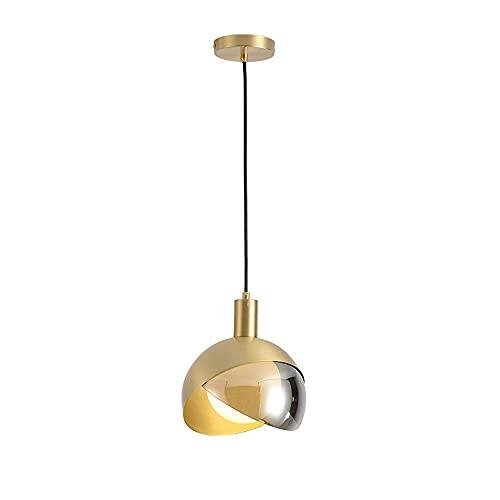 Chandelier de granja Lámpara de araña de interior + latón ajustable LED Equipo de ahorro de energía y adecuado para el estudio Dormitorio Corredor Iluminación lámpara colgante Arañas modernas