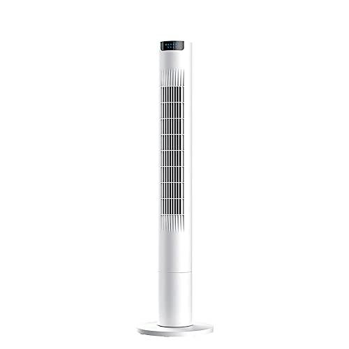 YCSC Ventilador de torre, ventilador vertical, funcionamiento silencioso, ajustable de tres velocidades, control remoto, oscilación automática, adecuado para el hogar y la oficina
