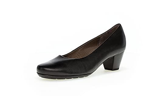 Gabor Damen Pumps, Frauen Absatzschuhe,Moderate Mehrweite (G),Lady,Ladies,Absatzschuhe,high,Heels,hochhackige,Schuhe,schwarz,41 EU / 7.5 UK