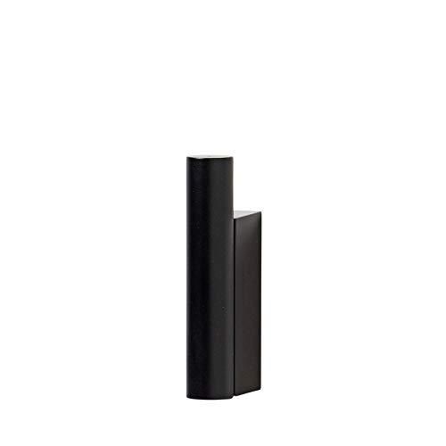 Blomus Wandhaken-69086 Wandhaken, Black, One Size