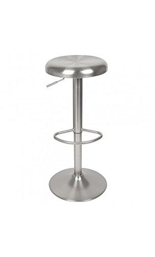 La Chaise Longue - Taburete de bar (aluminio cepillado)