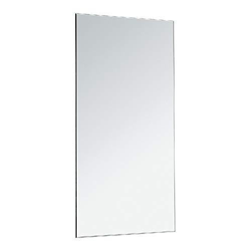 CustomGlass Espejo de Pared para baño (60 x 40 cm)