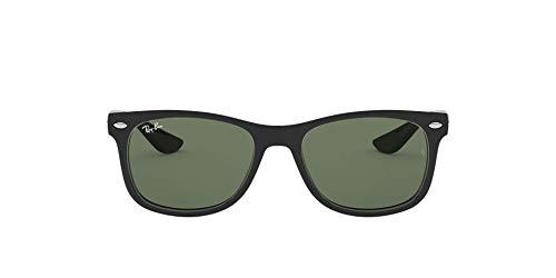 Ray-Ban Unisex Rj9052s Sonnenbrille, Schwarz (Gestell: Schwarz, Gläser: Grün Klassisch 100/71), Medium (Herstellergröße: 48)