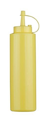PADERNO World Cuisine Flacone Dosatore, in Polietilene, Giallo, capacità 0,36 lt