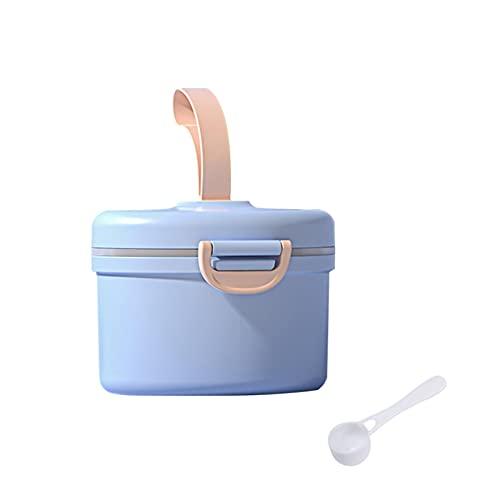 MOVKZACV Dispensador de fórmula para bebés, dispensador portátil de leche en polvo, contenedor de almacenamiento para viajes, dormitorio al aire libre