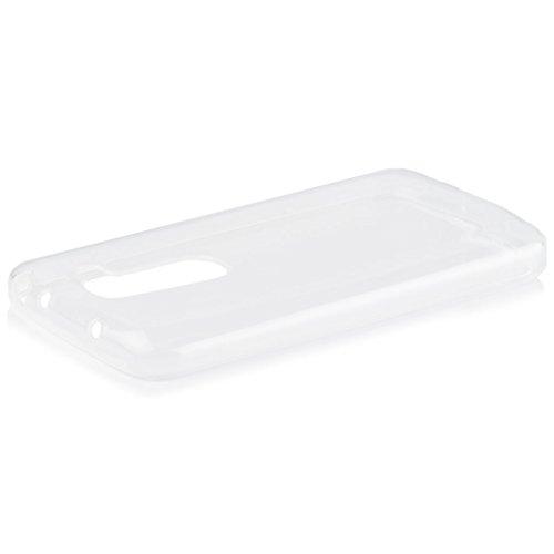 LG G2 Mini | iCues Transparent TPU Hülle Klar | [Bildschirm Schutzfolie Inklusive] Transparent Klarsichthülle Durchsichtig Klare Klarsicht Silikon Gel Schutzhülle Hülle Cover Schutz
