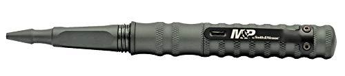 Smith & Wesson M&P - Bolígrafo de aluminio recargable para aviones (6 pulgadas) con resorte, para exteriores, supervivencia, camping y EDC