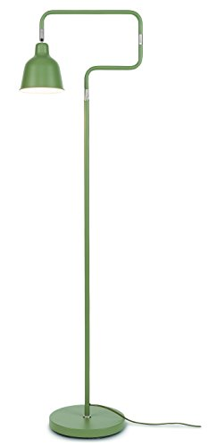 It's about RoMi LONDON/F/OG Lampadaire, Fer, E27, 25 W, Vert, 71 x 71 x 150 cm