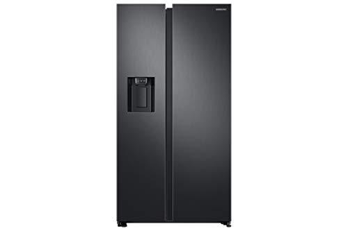 Samsung Elettrodomestici RS68N8331B1/EF Frigorifero Side by Side RS8000, 617 l, Black Matte