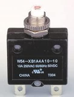 TE CONNECTIVITY 30A POTTER /& BRUMFIELD   W54-XB1A4A10-30   CIRCUIT BREAKER