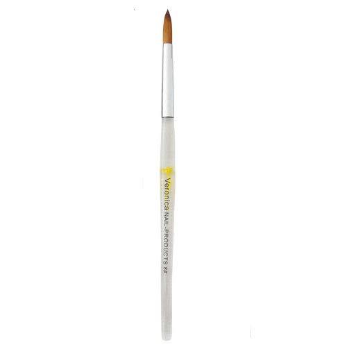 'Profi' penseel voor acrylnagels # 8 in een luxe koker voor nagelstyliste.