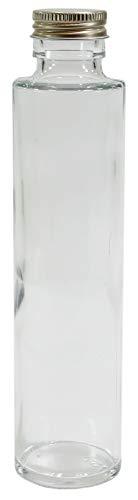 ニチフロ(Nichiflro) ハーバリウム用ガラス瓶 ハーバリウム専用瓶円柱 09-007 180ml